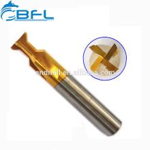Coupeur pointu de fraise en bout d'aronde de lames de BFL-4 / coupeur de cannelure de queue d'aronde de carbure de Chine