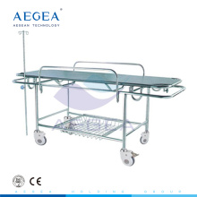 AG-HS015 stainless steel material patient transfer medical hospital room stretcher