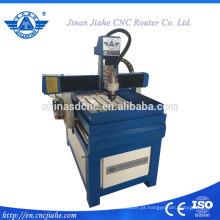 Máquina de gravura do cnc de pedra pequena 6090 para seixo
