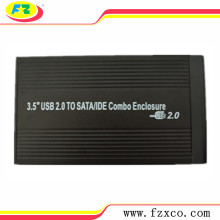 USB 2.0 a 3.5 HDD Enclosure SATA & IDE Combo