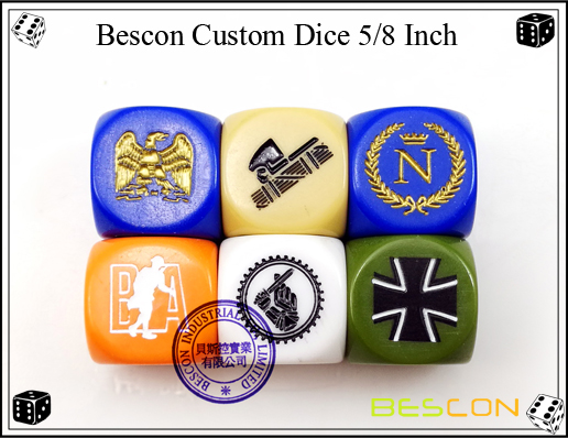 Bescon Custom Dice 16MM-3