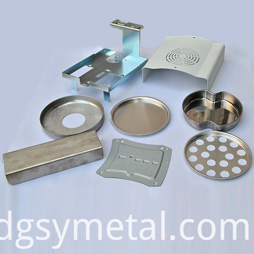 Stamping brass parts