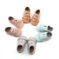 Brown Lacework weiche Sohle Baby Oxford Schuhe
