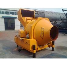 Mezclador de concreto de elevación hidráulica tipo diesel de 350L