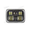 24V Rectángulo 85W CREE LED Faro de haz alto y bajo