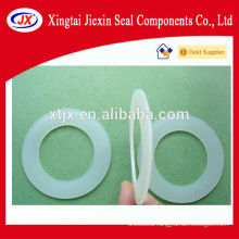 Different types silicone O rings and seals