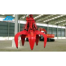 Grammage hydraulique Grab d'épluchure pour excavatrice Grab Scrap Grab crane parts ship machine