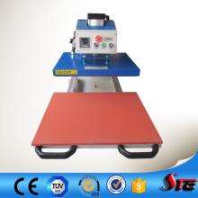 Machine pneumatique de presse de transfert de chaleur de dessin approuvé par CE