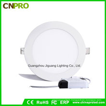 Factory Supply IP44 Wall Mounted Round/Square 9W LED Panel Lighting