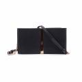 HEC New Design Schwarz PU Material Kreditkarte Brieftasche für Frauen