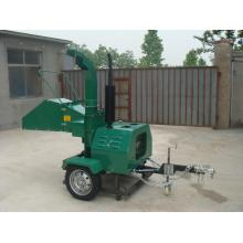 18HP Diesel engine self power wood chipper