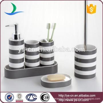 Moderno e contemporâneo rodada cerâmica banheiro e acessórios de cozinha
