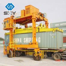 Schwerlast-Doppelträger Gummi-bereifte Container Spreidle Port Carrier
