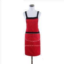 Avental unisex personalizado da cozinha do cozinhar do algodão da promoção