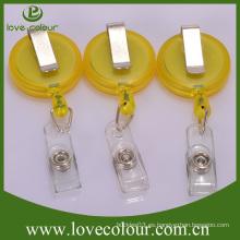 Promoción yoyo badge reel badge titular con clip