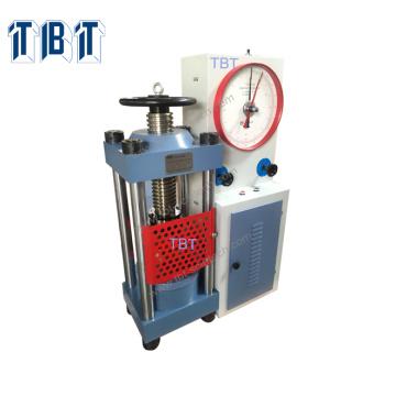 Máquina de prueba de compresión de piedra analógica TYE-2000
