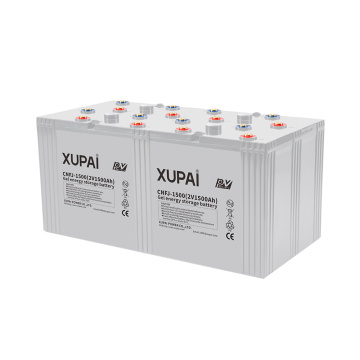 Solar Gel Lead Acid Battery 2v 1500ah