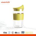 Экологичный пользовательский термостойкий двойной дешевый стеклянный кубок для кофе