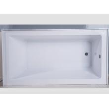 """Baignoire transparente de tablier acrylique de bride de tuile de 60 """"X30"""""""