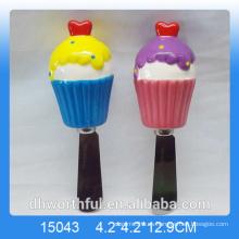 Cuchillo de mantequilla con mango de cerámica para niños