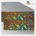 Holográfica de folha personalizada impressão com bom preço
