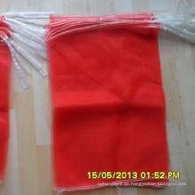 großhandel kleine pe mono mesh taschen für ingwer