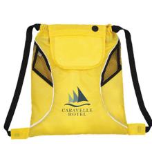 High quality custom printing promotional nylon duffel drawstring sport bag