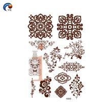 YinCai simple mandala henna designs
