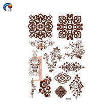 YinCai простая мандала хна дизайн