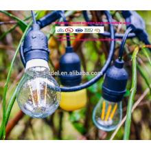 SL-1022 Vintage Edition Outdoor-String Lichter mit Nostalgischen Edison Glühbirnen
