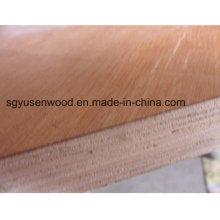 Madera contrachapada de chapa de madera diferente