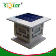 outdoor pillar lamp with good quality solar lighting