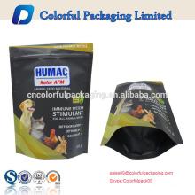 o cão resealable feito sob encomenda trata o saco de empacotamento / o saco ziplock estando / empacotamento da alimentação animal