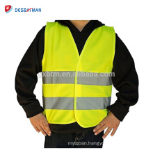 High Visibility Comfortable Reflective Breathable Safety Vests Construction Motorcycle Bike Traffic Running Emergency for Kids