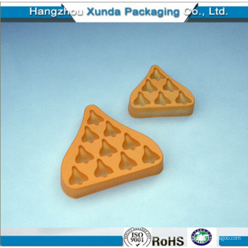 Customize Plastic Chocolate Packaging Tray Blister Insert Tray