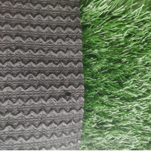 Football synthetic artificial grass zigzag backing grass for soccer field