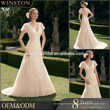 Popular Sale wedding dress lace trumpet