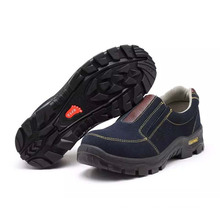 Fashion Industrial Working Professional Standard PU Footwear Labor Safety Shoes