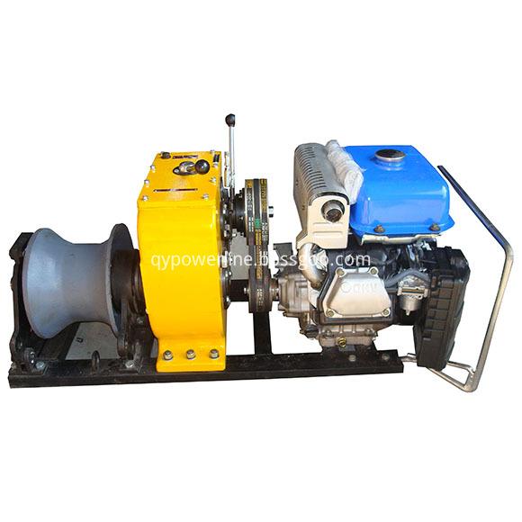 engine driven winch