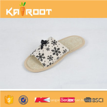 summer natural linen i want to buy wholesale buckle for slippers