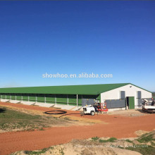 steel structure shed industrial metal chicken broiler house design for sale
