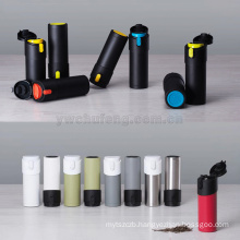 hot sell Stainless steel creative inverted mug make tea double layers flask vacuum insulated reverse tea bottle