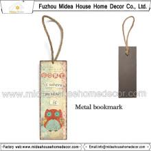 Coloré 5 * 15 Cm ou signet en métal personnalisé