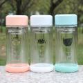 Doppelwand Mode Trinkglas Wasserflasche