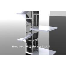 Elegant design for cheap small home lift