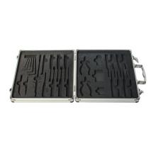 Caja de herramientas de aluminio con espuma interior personalizada