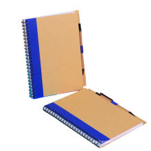 Brothersbox Factory Custom Eco Spiral Notebook with Pen
