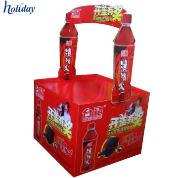 Supermercado de productos promocionales Durable Cartón Dump Bin Display