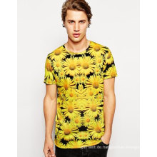 2016 China OEM Fashion billigste Sublimation Printing Dry Fit Männer T-Shirt