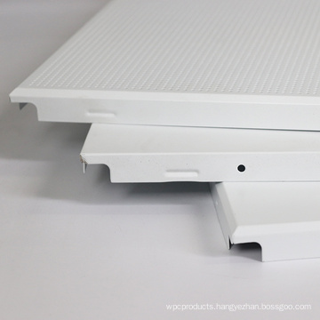 acoustic decorative suspended aluminum square ceiling tiles 600*600 clip in ceiling panel